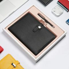 深泰活页本礼盒笔记本文具本子记事本定制办公可拆页日记本A5套装