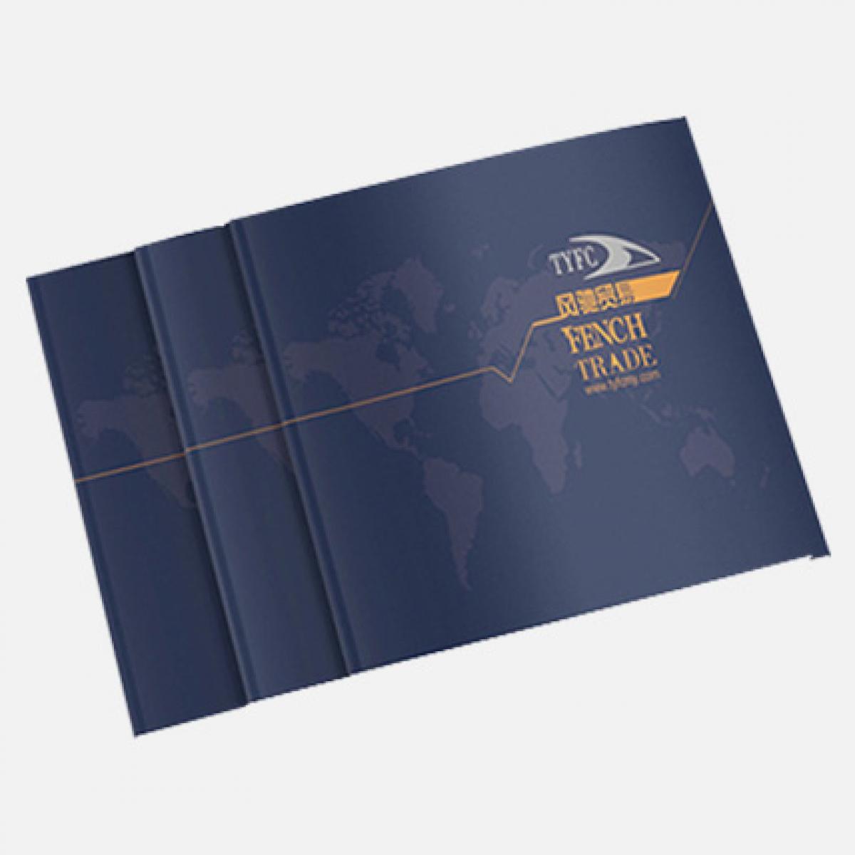 锁线胶装画册