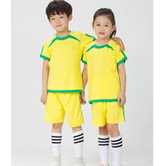 童装纯棉短袖衬衫套装幼儿园园服夏装