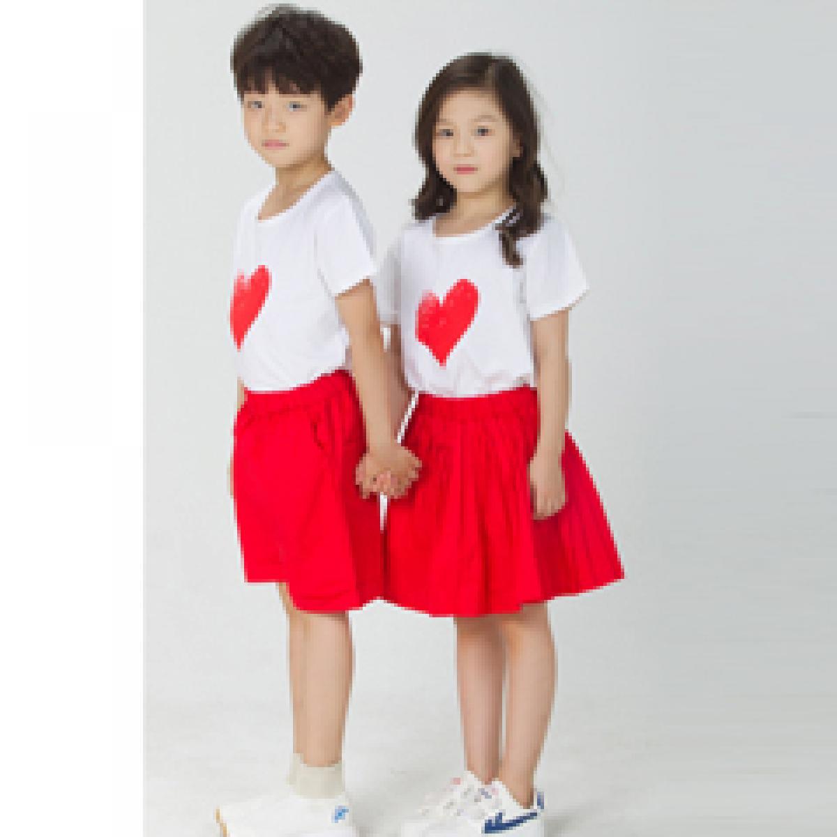 学校小学生夏装园服幼儿园运动表演服